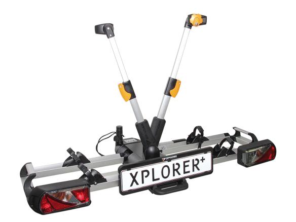 Eufab Fahrradträger Spinder XPLORER+