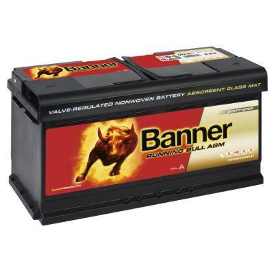 Running Bull AGM Batterie 80Ah