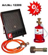 Set-Aktion Kanzelheizung Mini Cat 1100 Watt   12209 Set