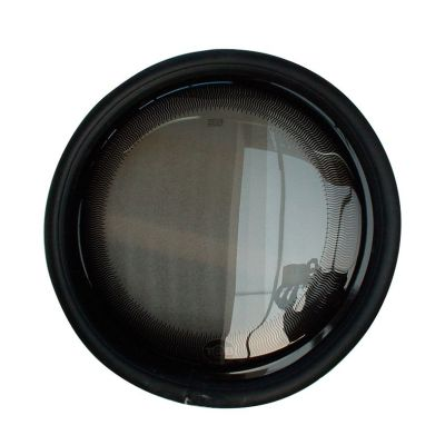 Bullauge starr, 380 mm (Glas = 356 mm) ohne Gummi