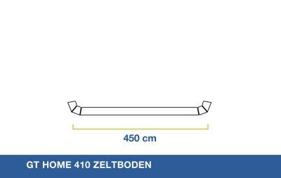 GT Home 410 Zeltboden