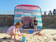 Pop-Up Strandhütte Beach Hut