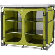 Campingschrank DEFA Double, lime
