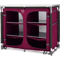 Campingschrank DEFA Double, pink