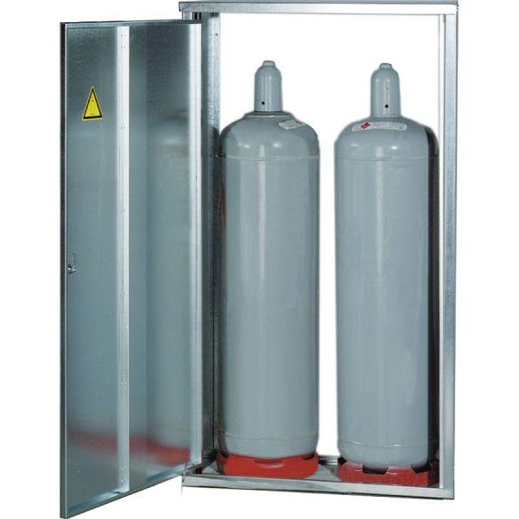gas flaschen schrank 2 flaschen 11 kg. Black Bedroom Furniture Sets. Home Design Ideas