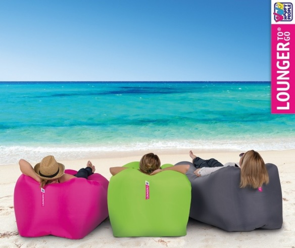happy people lounger to go luftsack farbe anthrazit